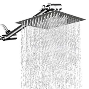 Wjbath Premium - Ducha de lluvia grande cuadrada, 12 pulgadas, ...