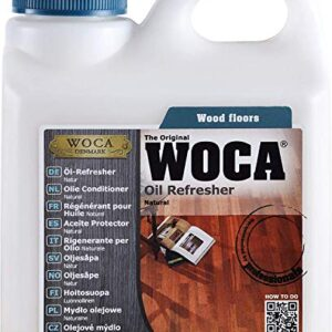 Woca - Refresher Oil 1 L, 1 unidades), color natural, 511 ...