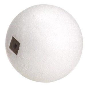 Wolfpack 4020225 Boya de corcho blanco 3 / 8x9 mmm. Hilo 3/16