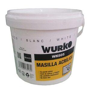 Wurko 175160 Masilla de plástico, 1 kg