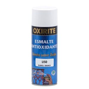 Xylazel - Esmalte liso oxirita metal spray 400ml blanco