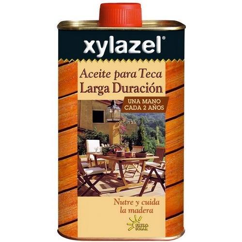 Xylazel M109095 - Aceite teka de larga duración incoloro 750 ...