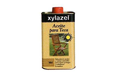 Xylazel M93821 - 5 l de aceite de teca incoloro