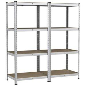 Yaheetech Set de 2 estanterías de almacenamiento Gara ...