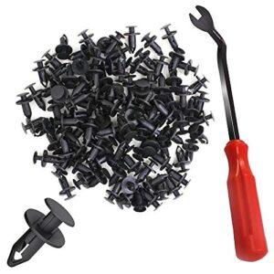 YuCool 100 piezas de nylon con clips para remaches y acceso ...