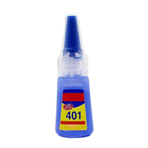 ZREAL 401 Adhesivo rápido de fijación rápida Pegamento rápido 20 G Su ...