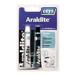 ceys 0 Adhesivo metálico bicomponente 47 gr araldit W, 0 V, A ...