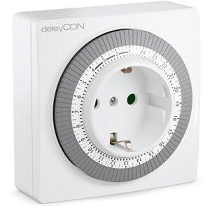 deleyCON Timer Plug Temporizador ajustable manualmente ...