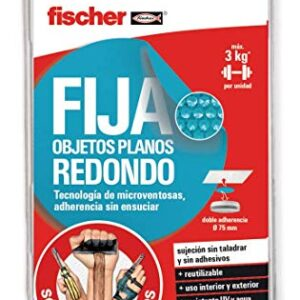 fischer - Sclm Objetos planos fijos redondos / (Blister de 2 unidades ...