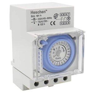 heschen sul 181H temporizador 230 V 45 - 60 Hz 24 horas 35 m ...