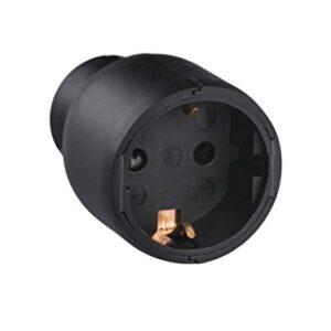 legrand 050179 Base de enchufe móvil, 3680 W, 230 V, negro