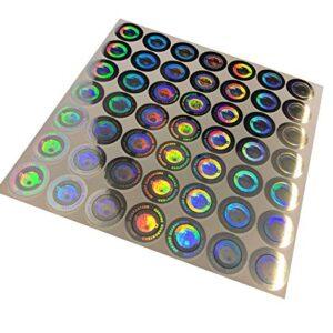 stickerslab - 100 étiquettes adhésives sceau holographique d ...