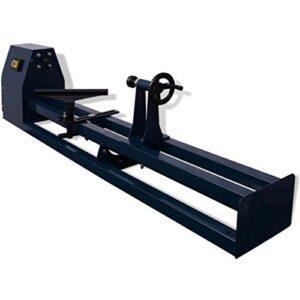 vidaXL Torno de madera 1000 mm 400 W con distancia entre ...