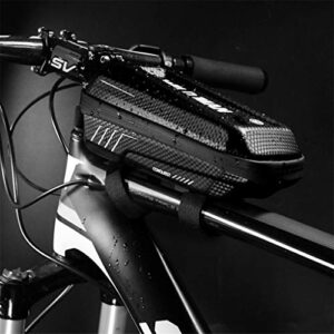 Dkings Bolsa de marco delantero de bicicleta, bolsa de asa ...