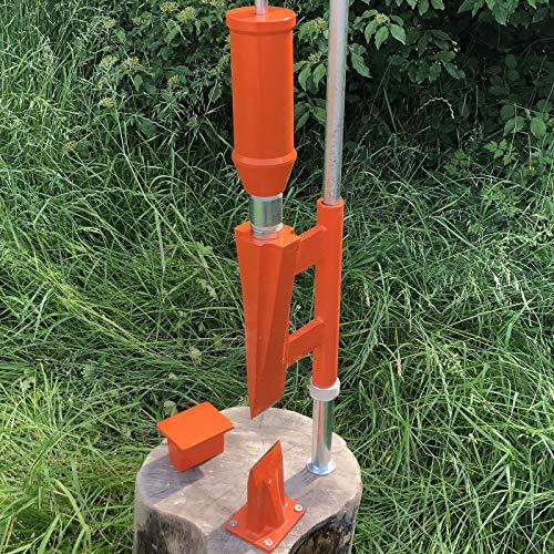 Forest Master © Smart Splitter Holzspalter Manual Tipo FMSS M ...