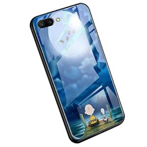 YSIMEE Compatible con Huawei Honor 10 Estuches Night L ...