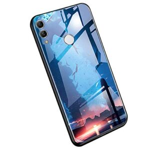 YSIMEE Compatible con Huawei Honor 10 Lite Estuches Estuche No ...