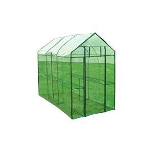 vidaXL Greenhouse XL Steel House Cultivo de plantas para ...