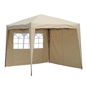 Angel Living Cenador Pop-Up Plegable 2.5 * 2.5m con 2 Lados ...