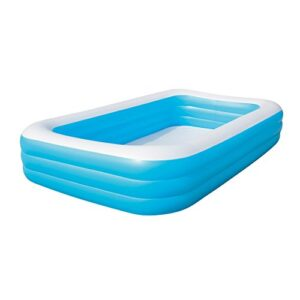 Bestway 54009 Piscina Hinchable Infantil Rectangular, Azul 3...