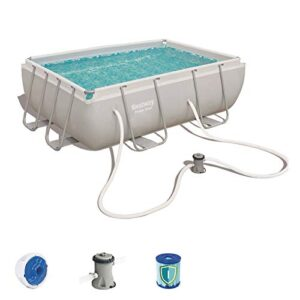 Bestway 56629 - Piscina Desmontable Tubular Power Steel 282x...