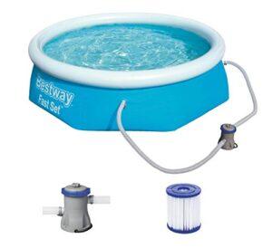 Bestway Fast Pool Set 244x66 cm, mit Filterpumpe Piscina (24...