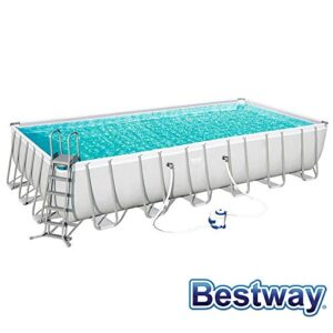 Bestway Power Steel Rectangular Suelo, Grey