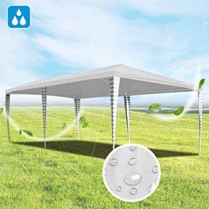 Hengda Cenador de jardín 3 x 6 m con protección UV para Fies...