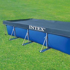 Intex 28039 - Cubierta rectangular para piscina Prisma / marco pequeño ...