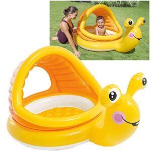 Intex 57124NP - Piscina hinchable Caracol 145 x 102 x 74 cm, ...