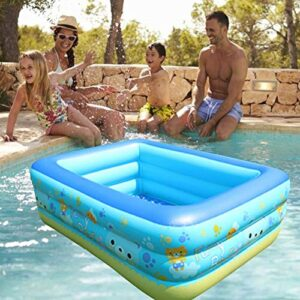 LUCYPAPASHOW Piscina Inflable, Piscina Inflable para Niños B...
