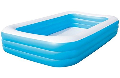 MWS2815 54009 Piscina rectangular inflable Bestway familia 3...
