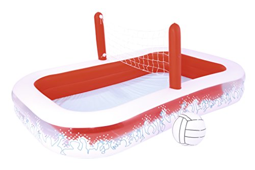 Piscina Hinchable Infantil con Red Voleibol Bestway Inflate-...