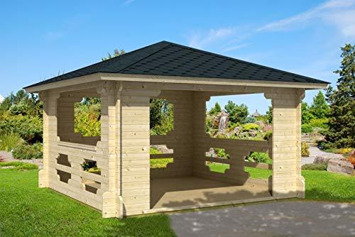 Prikker-Gartenhaus Ibiza-40 - Pérgola de madera, 400 cm x 40...