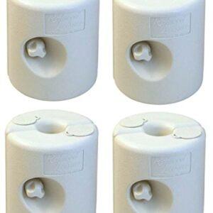 Redwood BB-GA292 - Pesas para Patas de kiosko de plástico, 4...