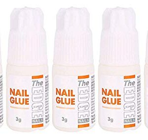 Adhesivo para punta de uñas falsas súper fuerte The Edge 3G,...