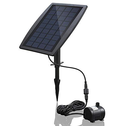 Anself BSV-SP025 - Bomba de Agua de Panel de Energía Solar S...