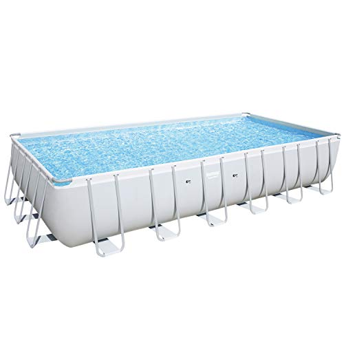 Bestway Power Steel Rectangular Frame Pool, 732 x 366 x 132 ...
