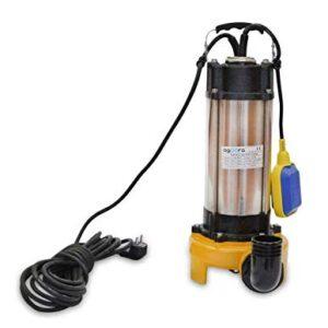 Bomba Sumergible Para Agua Sucias 2200W, 230v, 30000L/h, Ace...