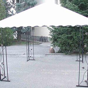 CRUCCOLINI Linea Jardín 'Bacco' cenador de Hierro Forjado MT...
