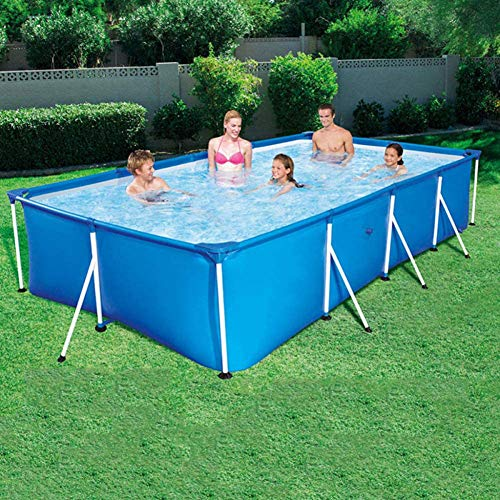 Deluxe Splash Frame Pool Desmontable Tubular Piscina para Ad...