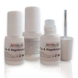 Eubecos 3x Segundos Tip Adhesivo Pegamento 7,5 G - Bote con ...