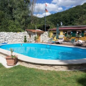 Exklusiv Acero Pared Pool ovalform 800x 420x 120Juego com...