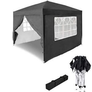 HENGMEI 3x3m Cenador Plegable para jardín Carpa pabellón Tie...