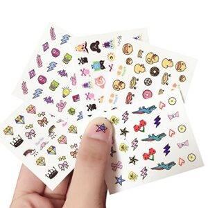 Kanggest. 10Pcs Preciosas Pegatinas de Uñas para Niños de Di...