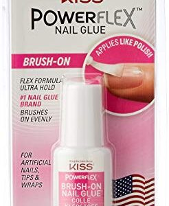 Kiss Powerflex pegamento Brush-On uñas pegamento