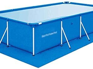 Las piscinas portátiles desmontable rectangular piscina bomb...