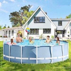 Lin Framed Pool, Piscina Redonda, Piscina sobre El Suelo con...