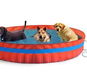 New Plast 3100K–My Dog Pool Piscina para Perros con Filtr...