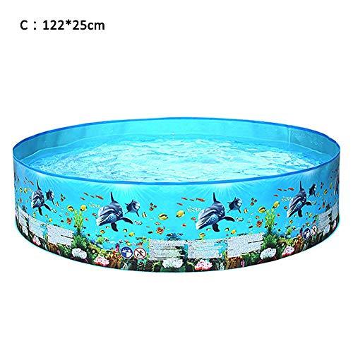 Piscina de baño Plegable, Piscina Plegable de plástico Duro,...